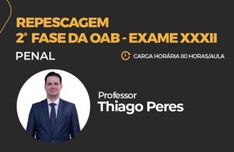 MAX OAB 2ª Fase - Repescagem Direito Penal