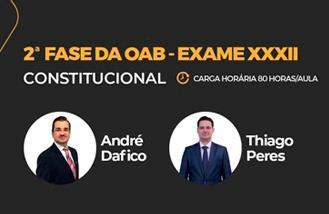 MAX OAB 2ª Fase -  Direito Constitucional - Exame XXXII