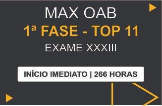 MAX OAB 1ª FASE - TOP11