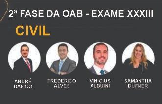 MAX OAB 2ª Fase - Direito Civil - Exame XXXIII